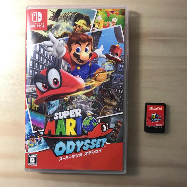 Nintendo Switch(ニンテンドースイッチ)のスーパーマリオ オデッセイ Switch  エンタメ/ホビーのテレビゲーム(家庭用ゲームソフト)の商品写真