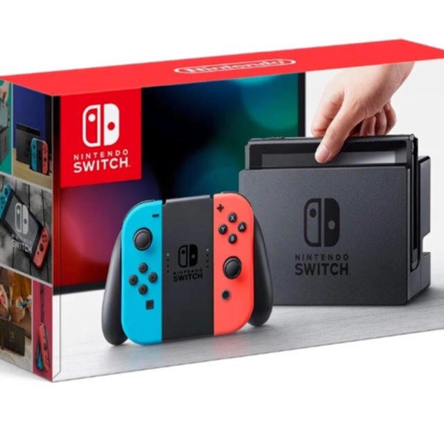 Nintendo Switch(ニンテンドースイッチ)のNintendo Switch 新品未開封 ビックカメラ12/5から1年保証 エンタメ/ホビーのテレビゲーム(家庭用ゲーム本体)の商品写真