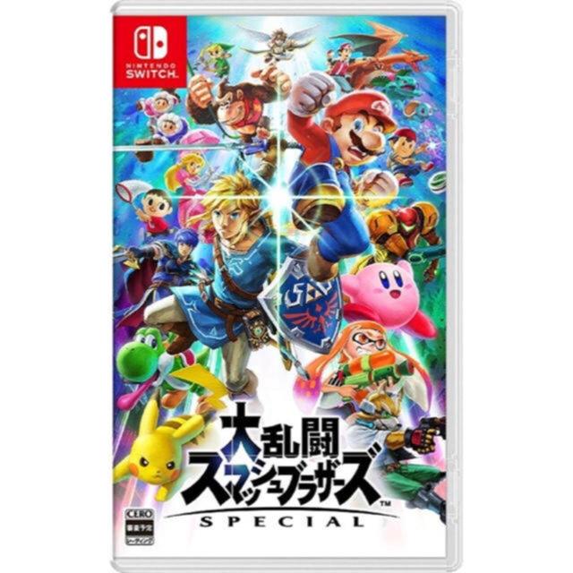 Nintendo Switch(ニンテンドースイッチ)の任天堂Switch * 大乱闘スマッシュブラザーズ SPECIAL エンタメ/ホビーのテレビゲーム(家庭用ゲームソフト)の商品写真