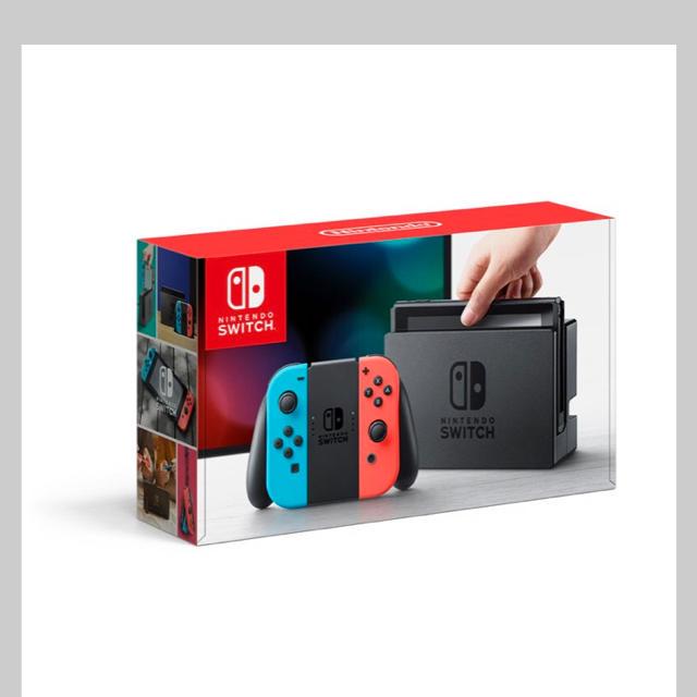 Nintendo Switch(ニンテンドースイッチ)の【最終値下】 Nintendo Switch  本体 ネオンカラー 新品 未開封 エンタメ/ホビーのテレビゲーム(家庭用ゲーム本体)の商品写真