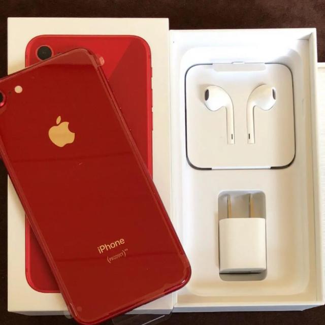 iPhone(アイフォーン)の新品未使用 iPhone8本体 64GB スマホ/家電/カメラのスマートフォン/携帯電話(スマートフォン本体)の商品写真