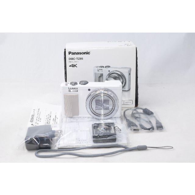 Panasonic(パナソニック)のほぼ新品☆ Panasonic Lumix  DMC-TZ85 シルバー スマホ/家電/カメラのカメラ(コンパクトデジタルカメラ)の商品写真