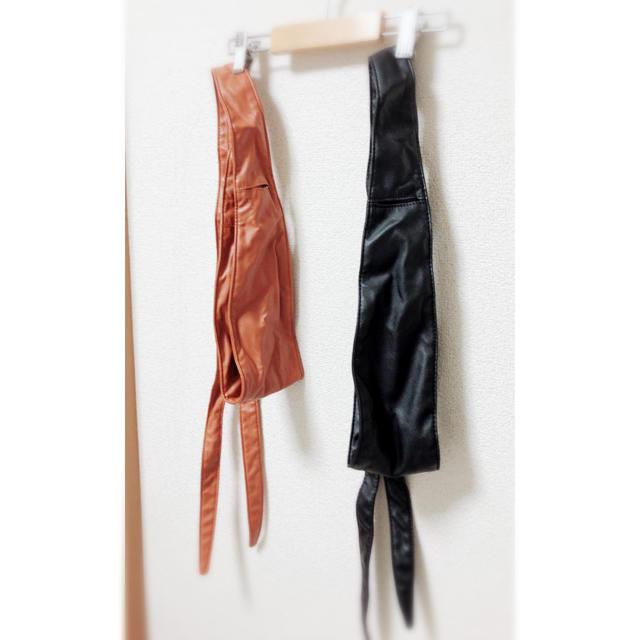 GU(ジーユー)のGU 人気完売 サッシュベルト レディースのファッション小物(ベルト)の商品写真