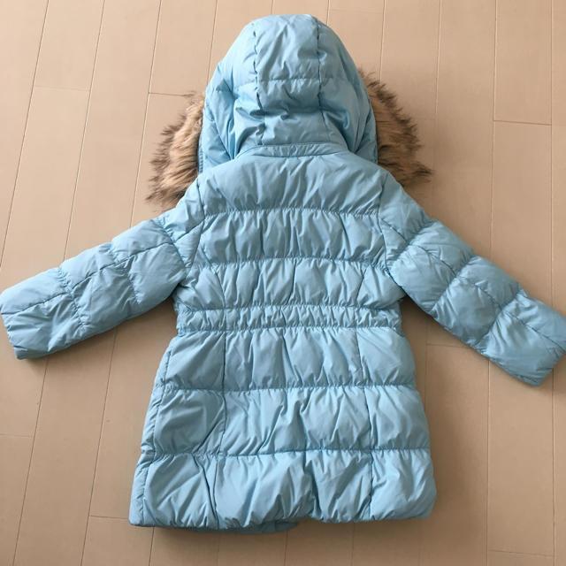 GU(ジーユー)のGU キッズ ダウンコート 110㎝  キッズ/ベビー/マタニティのキッズ服 女の子用(90cm~)(コート)の商品写真