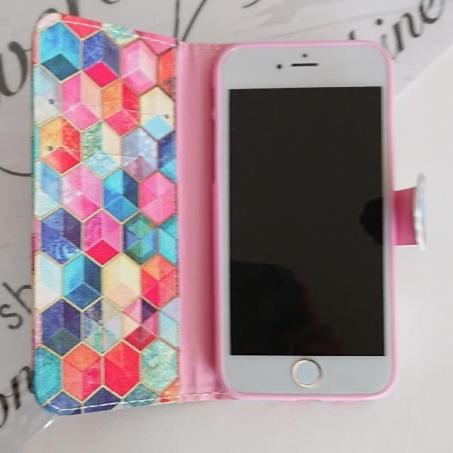 スマホケース手帳型iphoneケース スマホ/家電/カメラのスマホアクセサリー(iPhoneケース)の商品写真