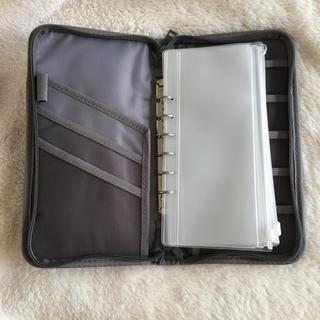 ムジルシリョウヒン(MUJI (無印良品))のパスポートケース【クリアケース5個付き】(日用品/生活雑貨)