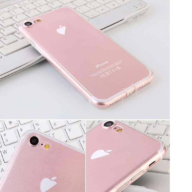 iPhone7用の透明のTPUカバー スマホ/家電/カメラのスマホアクセサリー(iPhoneケース)の商品写真