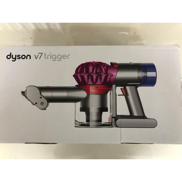 Dyson(ダイソン)のダイソンDyson V7 trigger ハンディクリーナー 新品同様 スマホ/家電/カメラの生活家電(掃除機)の商品写真