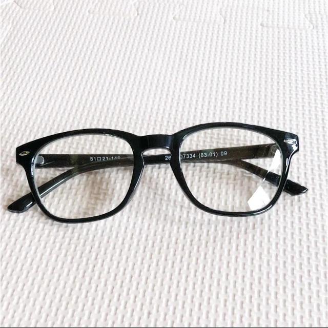 GU(ジーユー)の伊達メガネ  レディースのファッション小物(サングラス/メガネ)の商品写真