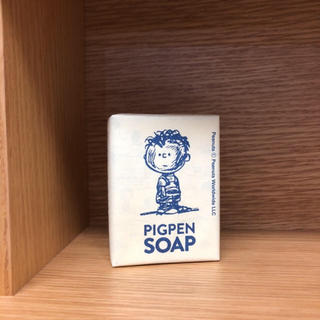 snoopy museum ピックペン 石鹸 ソープ スヌーピー 新品未使用