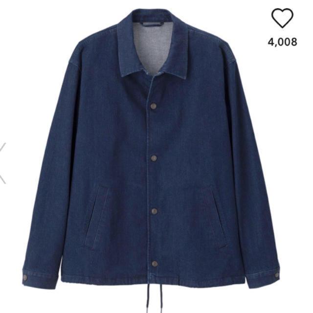 GU(ジーユー)のGU コーチジャケット げんじ プルオーバー メンズのジャケット/アウター(Gジャン/デニムジャケット)の商品写真
