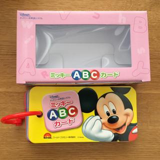 Disney - ミッキーABCカード