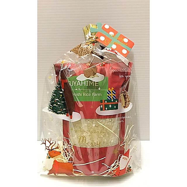 もちもちつやつや♡つや姫 クリスマスラッピング♡ 食品/飲料/酒の食品(米/穀物)の商品写真