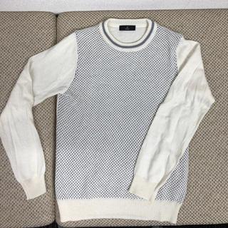 イネド(INED)のニット セーター イネド 白(ニット/セーター)
