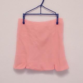 ティティアンドコー(titty&co)の♡ オレンジタイトスカート ♡(ミニスカート)