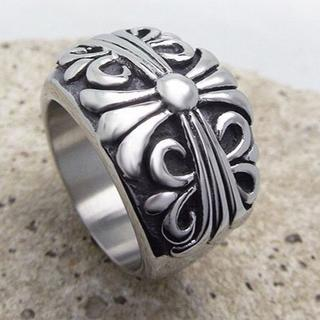 サージカルステンレス クロスキーパーリング(リング(指輪))