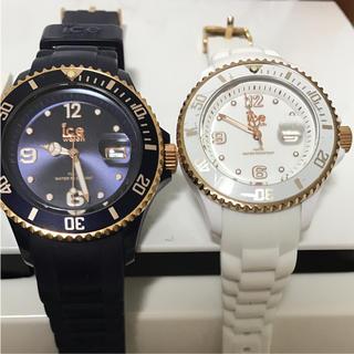 アイスウォッチ(ice watch)のアイスウォッチ ペア クリスマス限定品(腕時計)