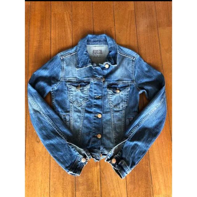 ZARA(ザラ)のZARA ザラ☆デニムジャケット Gジャン☆Sサイズ☆ブルーデニム レディースのジャケット/アウター(Gジャン/デニムジャケット)の商品写真