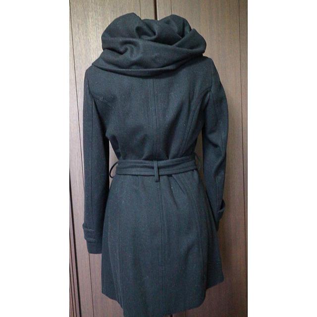 ZARA(ザラ)のZARA 黒 コート レディースのジャケット/アウター(ロングコート)の商品写真