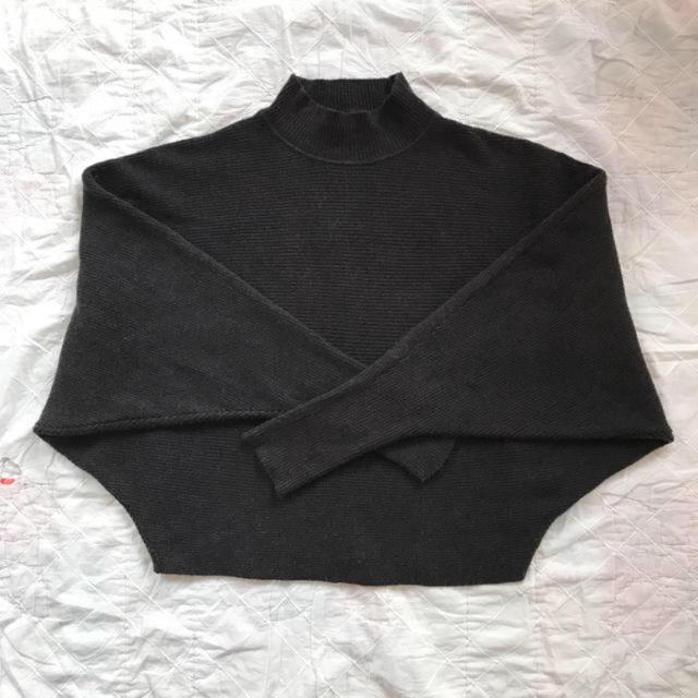 ZARA(ザラ)のzara ドルマンスリーブ レディースのトップス(ニット/セーター)の商品写真