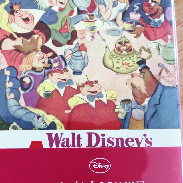 Disney(ディズニー)のDisney文庫本ノート エンタメ/ホビーの本(その他)の商品写真