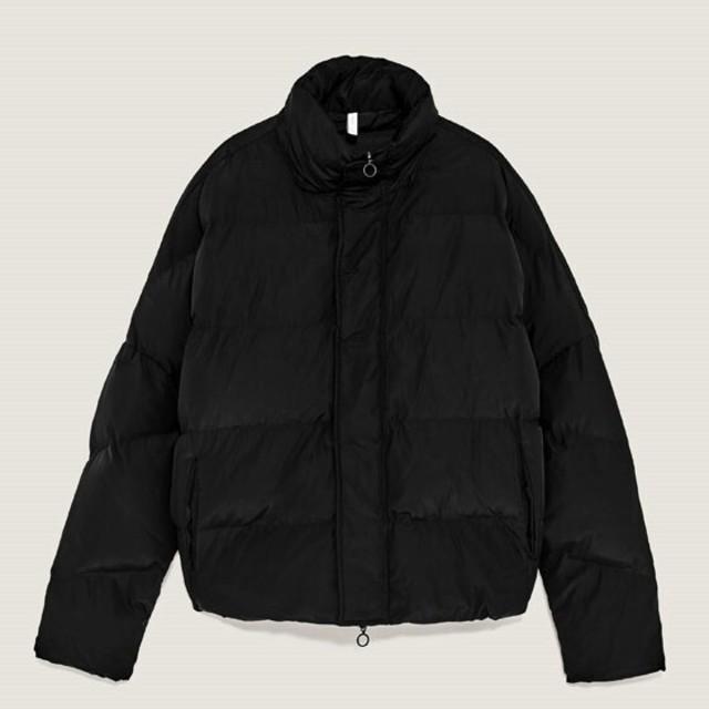 ZARA(ザラ)のZARA パフジャケット 独特的なデザイン  メンズのジャケット/アウター(ダウンジャケット)の商品写真