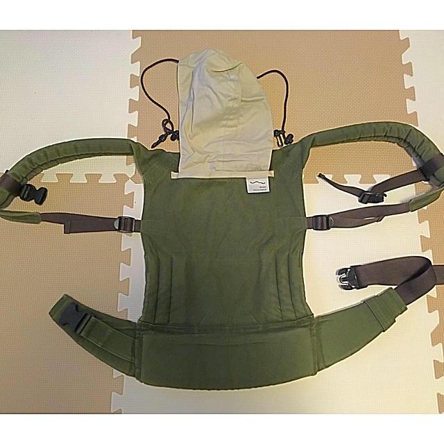 サンアンドビーチ  抱っこ紐 キッズ/ベビー/マタニティの外出/移動用品(抱っこひも/おんぶひも)の商品写真