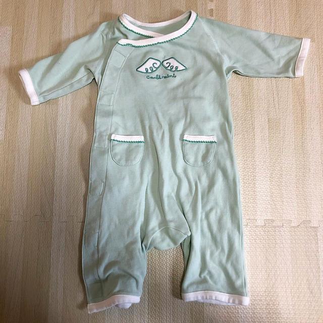 Combi mini(コンビミニ)のcombi mini 天使のカバーオール キッズ/ベビー/マタニティのベビー服(~85cm)(カバーオール)の商品写真