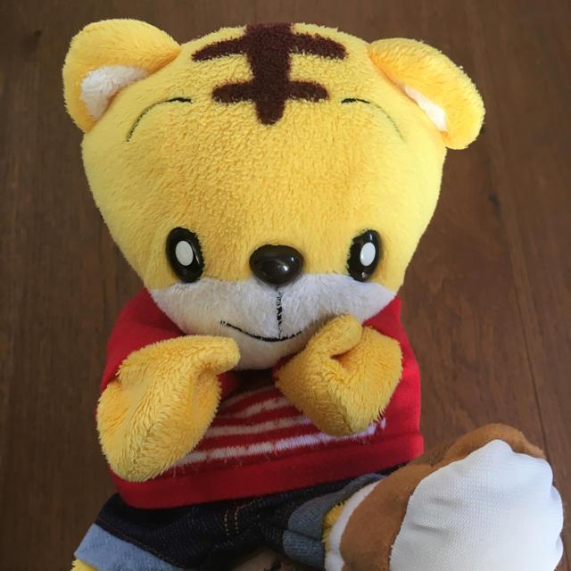 しまじろう パペット ぬいぐるみ キッズ/ベビー/マタニティのおもちゃ(ぬいぐるみ/人形)の商品写真