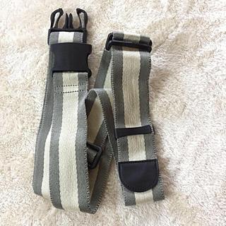 ムジルシリョウヒン(MUJI (無印良品))の無印良品  スーツケースベルト  フリーサイズ (旅行用品)