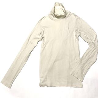 アタッチメント(ATTACHIMENT)のATTACHMENT スヴェンゴールドスムースタートルネックカットソー 1 白系(Tシャツ/カットソー(七分/長袖))