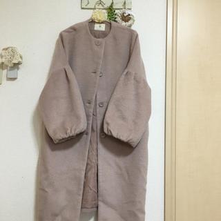 アルピーエス(rps)の*rps*ボリューム袖シャギーコート(ロングコート)