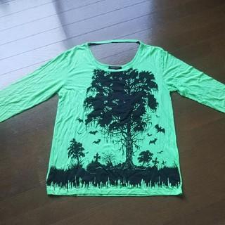 アルゴンキン(ALGONQUINS)のアルゴンキン グリーン長袖Tシャツ(シャツ/ブラウス(長袖/七分))