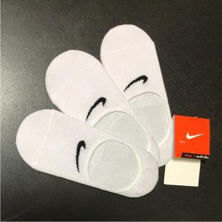 ナイキ(NIKE)の送無 ナイキ 滑り止め加工 靴下 ソックス スニーカーソックス 3足セット(ソックス)