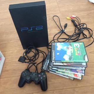 PlayStation2 - PS2 本体 ソフト6本 ジャンク品