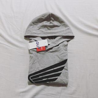 ジーユー(GU)のGU HONDA ジーユー ホンダ コラボ 120cm Tシャツ フード付き(Tシャツ/カットソー)