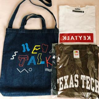 【KEYTALK】未使用Tシャツ2点&美品バッグ1点 合計3点セット(ミュージシャン)