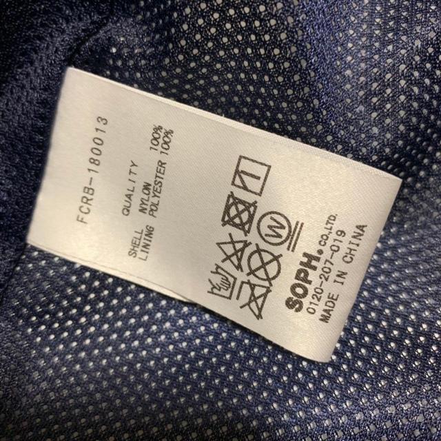 F.C.R.B.(エフシーアールビー)のFCRB ビックスタージャケット ネイビーサイズL soph メンズのジャケット/アウター(ナイロンジャケット)の商品写真