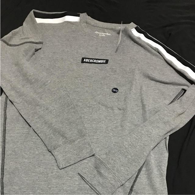 Abercrombie&Fitch(アバクロンビーアンドフィッチ)のXS◎新品正規品◎アバクロ◎Abercrombie&Fitch◎ロングTシャツ◎ メンズのトップス(Tシャツ/カットソー(七分/長袖))の商品写真