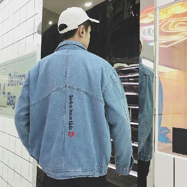 流行 カジュアルジャケット  ィンテージ風   メンズのジャケット/アウター(ダウンジャケット)の商品写真