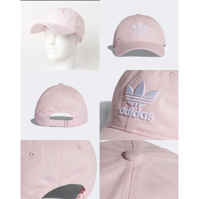 adidas(アディダス)のadidas 帽子 ピンクOriginals DJ0882 レディースの帽子(キャップ)の商品写真