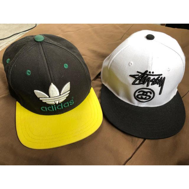 adidas(アディダス)のadidas & stussy の キャップ レディースの帽子(キャップ)の商品写真