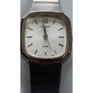 アルバ(ALBA)の【動作品】ALBA ESTATE  型番V401-5020レディース腕時計♪(腕時計)