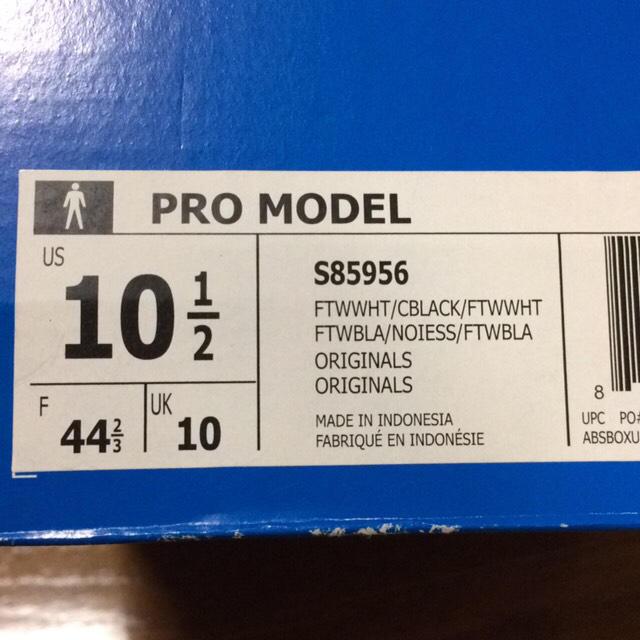 adidas(アディダス)の新品未使用 adidas アディダス スーパースター プロモデル メンズの靴/シューズ(スニーカー)の商品写真