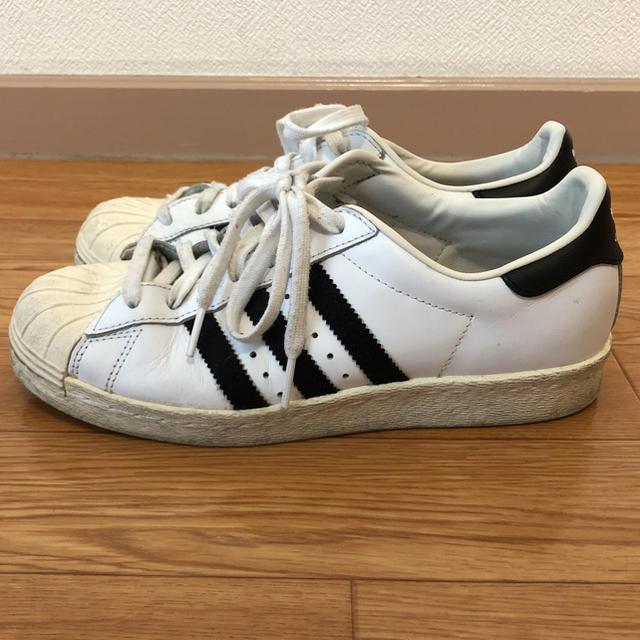 adidas(アディダス)の☆アディダス スーパースター スニーカー ホワイト×ブラック 24㎝☆ レディースの靴/シューズ(スニーカー)の商品写真