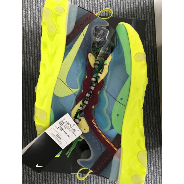 NIKE(ナイキ)のNIKE REACT ELEMENT 87 UNDERCOVER メンズの靴/シューズ(スニーカー)の商品写真