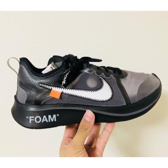 NIKE(ナイキ)のoff-white nike zoom fly メンズの靴/シューズ(スニーカー)の商品写真