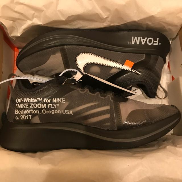 NIKE(ナイキ)のナイキズームフライ オフホワイト メンズの靴/シューズ(スニーカー)の商品写真