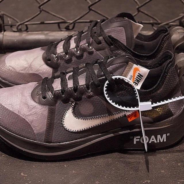 NIKE(ナイキ)のオフホワイト ズームフライ 27.5cm メンズの靴/シューズ(スニーカー)の商品写真