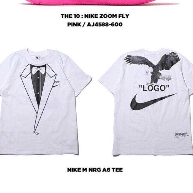 NIKE(ナイキ)のオフホワイト tシャツ L メンズのトップス(Tシャツ/カットソー(半袖/袖なし))の商品写真